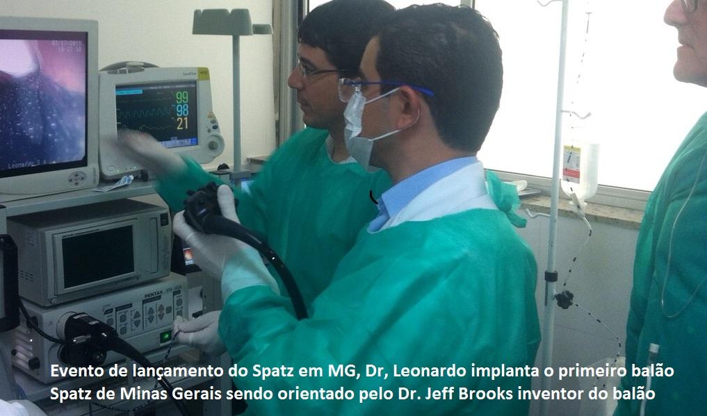 Foto Implantação balão Spatz em Minas Gerais